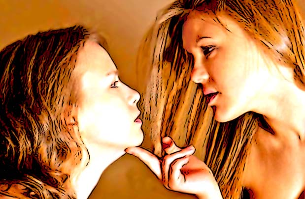 Mädchen fragen lesbische Mädchen: Warum macht ihr